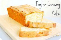 Caraway seed cake, tea time! :)