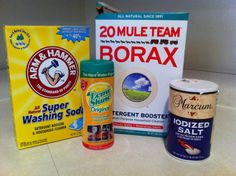 Homemade dishwasher detergent: Recipes of a Rich Family (with no money down)
