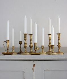 Candlesticks: Countryside Comfort + More Inspiration for a neutral color concept for Valerie H Studi