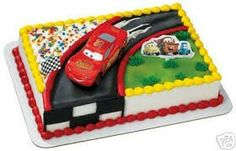 Image Search Results for disney cars cake Disney Cars Cake, Disney Cars Party, Disney Cakes, Mickey Party, Car Themed Parties, Cars Birthday Parties, Baby Birthday, Birthday Ideas, Birthday Cakes
