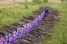 log retaining walls