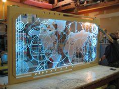 David Illuminates Family Lithophane with LED Strip Light ...