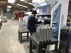 V and F Sheet Metal in Hampshire offer CNC Bending services throughout the UK. Cnc Press Brake, Sheet Metal Work, Bending, Folded Up, Jukebox, Metal Working, Projects, Log Projects, Sheet Metal Shop