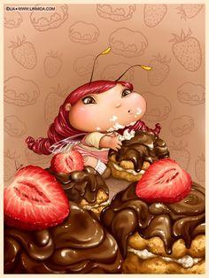 Lia Selina. Детские иллюстрации.. Обсуждение на LiveInternet - Российский Сервис Онлайн-Дневников