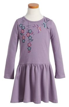 Tea Collection Majime Embroidered Dress (Toddler Girls, Little Girls & Big Girls) available at #Nordstrom