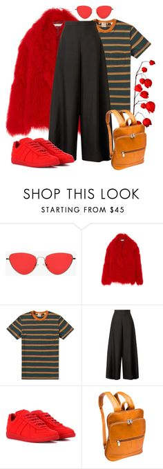 """""""Hot Stripes"""" by jessicajasr on Polyvore featuring Levi's, The Row, Maison Margiela and Le Donne"""
