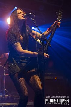 Photos of Crucified Barbara at Hard Rock Hell VII - PlanetMosh
