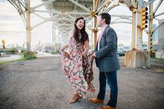 Love Inc.'s founder shares her engagement session in Long Island City, N.Y., photographed by Allan Zepeda Photography