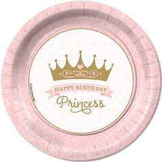 Pink Provincial Princess Dinner Plates