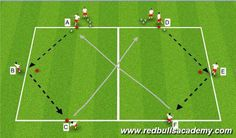 Football/Soccer Session Plan Drill (Colour): Warm Up I #soccerdrills Soccer Warm Up Drills, Soccer Warm Ups, Football Drills, Soccer Practice, Soccer Tips, Soccer Games, Play Soccer, Football Soccer, Soccer Passing Drills