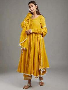 Cotton Anarkali, Cotton Suit, Indian Ethnic Wear, Indian Designer Wear, Dressing, Salwar Suits, Daily Wear, Frocks, Loom
