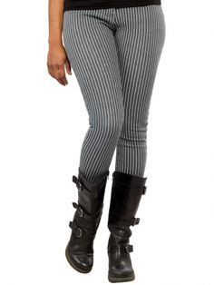 "Women's ""Engineer"" Pants by Sourpuss Clothing (Grey)"