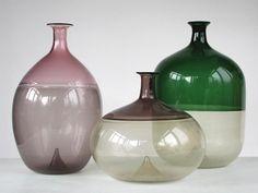 Carlo Scarpa, Glass Molds, Glass Vessel, Pressed Glass, Carnival Glass, Jar, Bottle, Design, Decor