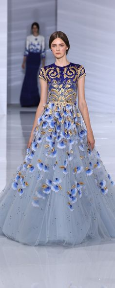 Georges Hobeika Fall-winter 2015-2016 - Couture - http://www.orientpalms.com/georges-hobeika-5685
