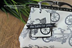 Loving this purse made with the Pedal Pusher stamp set..