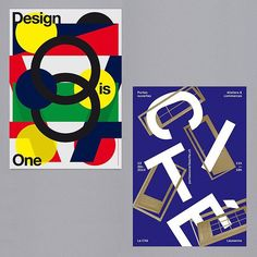 Switzerland's @a3studio produce bold typographic work with bright patterns and deconstructed forms. The studio also exhibits its work and has received design awards, particularly for its poster work. Go get an eyeful on the site. #itsnicethat #graphicdesign