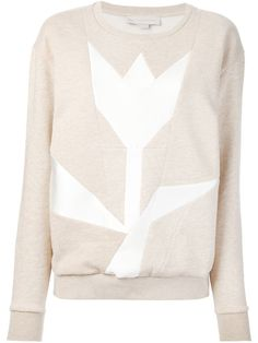 Stella Mccartney Tulip Panelled Sweatshirt - Smets - Farfetch.com