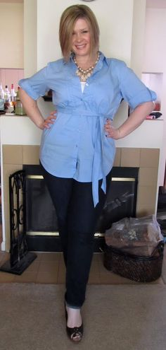 cute work outfit, could easily be maternity. Surely Sonsy
