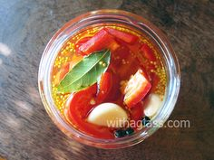 With a Glass: Pickled Pepper