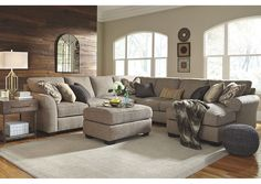 Pantomine Stationary Living Room Group at Becker Furniture World Living Room Seating, Cozy Living Rooms, Home Living Room, Living Area, Dining Room, Couch Furniture, Living Room Furniture, Furniture Mattress, Brown Furniture