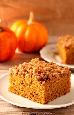 the best pumpkin crumb cake 3 The Best Pumpkin Coffee Cake