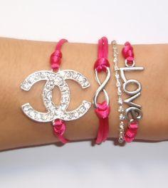 Conjunto Chanel Infinity. PVP : 12 €. Se vende por separado y está disponible en cualquier color .;)