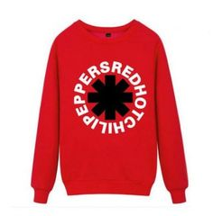 Red Hot Chili Peppers sweatshirt for teens rock band pullover