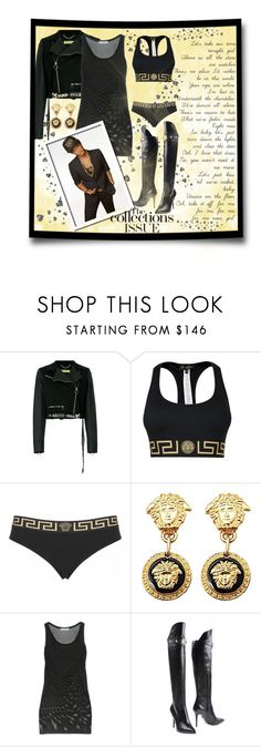 """""""Bruno Mars: VERSACE on the floor!"""" by nova5ta5ia ❤ liked on Polyvore featuring Versace and Adam Levine"""