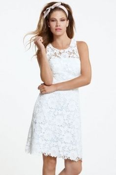 Chic Ivory Scoop A Line Short Lace Bridesmaid Dress Short Lace Bridesmaid Dresses, Affordable Bridesmaid Dresses, Bridesmaid Dresses Online, A Line Shorts, Lace Shorts, Gowns Online, Beautiful Gowns, Maid Of Honor, Marie