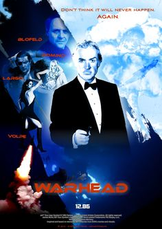 What if Sean Connery was Bond in Sony project 'Warhead' in the mid-80? - Teaser 1