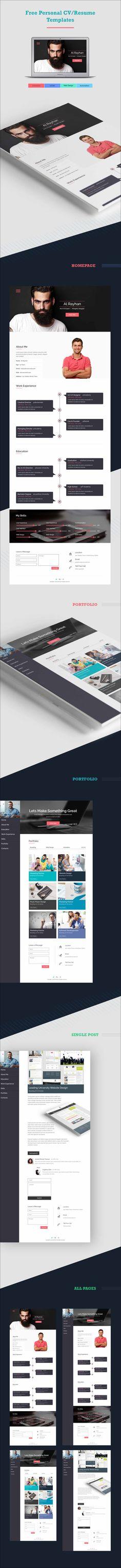 Hoki Premium Responsive #Joomla #Virtuemart Template Website - personal resume website template