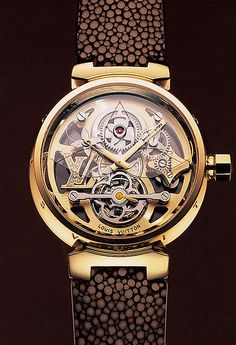 Louis Vuitton Tourbillon Tambour Monogram,