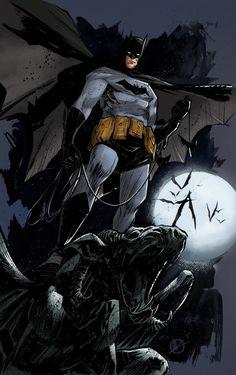 Batman// artwork byMatteo ScaleraandChristian Sabarre(2012)