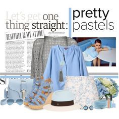 """""""Pretty in Blue"""" by maddycruise on Polyvore"""