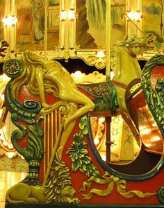One of the oldest carousels in the US,  Trimper's in Ocean City, MD