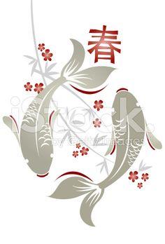 Fleures de cerisier recherche google d ssins fleurs for Recherche carpe koi donner