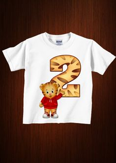 Cute Daniel Tiger Digital Iron On Transfer Decal, DIY Print. $3.99, via Etsy. @Melissa Hagan