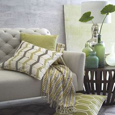 Printed Woven Throws   west elm