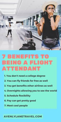 7 Benefits to Being a Flight Attendant! Want to travel the world as your job? These tips to being a flight attendant will help. Travel Jobs, Europe Travel Tips, Packing Tips For Travel, Travel Advice, Budget Travel, Europe Packing, Traveling Europe, Backpacking Europe, Packing Lists