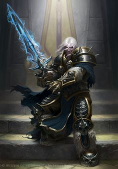 Arthas Menethil by ~namesjames on deviantART  [ Fighter - Warrior - Paladin - Knight - Archer - Assassin ]