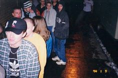 the line at :::code313::: party TOUGHGUY detroit, mi february 19, 2000