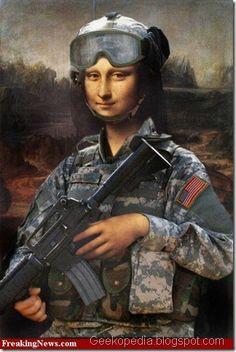 Mona Lisa soldado
