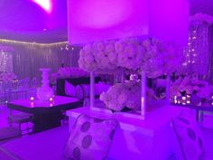 BLACK & WHITE WEDDING Decor by Darryl & Co.