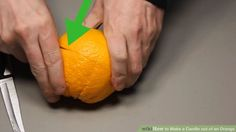Image titled Make a Candle out of an Orange Step 3