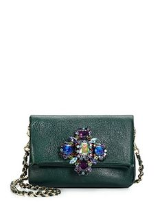 Luxe Rocks Scarlett in Hunter Green--something green (for Christmas). #GLITTERINJUICY #GIVEMEWHATIWANT
