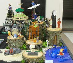 galeria totoro y todo miyazaki en figuras de lego