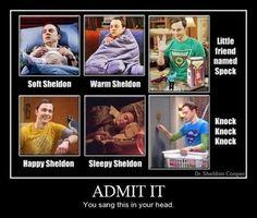 Sheldon from Big Bang Theory <3
