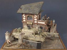 Broken Giant Military Modelling, Military Diorama, Panzer, World War Ii, Scale Models, Vignettes, Ww2, Mount Rushmore, House Styles