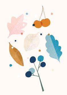 large leaves - studio lilla form//