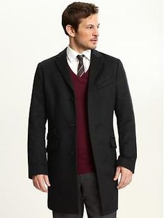 BR wool topcoat.  I'm only a little ashamed to say that I felt a little bit more complete as a man after I got one.